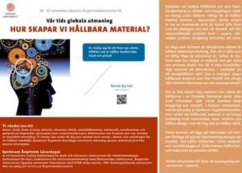 Hållbara material HT 13
